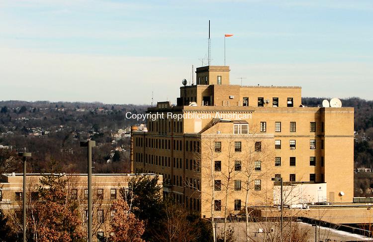 TORRINGTON, CT-- 31  JANUARY 2008--013108JS04-The Charlotte Hungerford Hospital in Torrington<br /> Jim Shannon/Republican-American