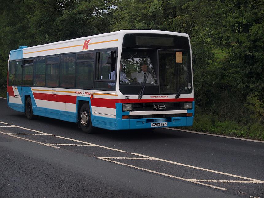 Leyland Single Decker Keighley Buses - 1989