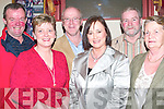 SOCIAL: having a great night at the John Mitchel's GAA Social at Their Club, John Joe Sheehy Road Tralee on Saturday night were L-r: John and Siobhan Keane (Lixnaw),  John and Valerie Higgins,Sean and Vourneen Burrows (Tralee)..    Copyright Kerry's Eye 2008