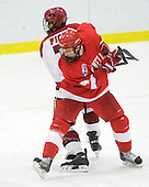 Keir Ross (Cornell - 4), Danny Fick (Harvard - 7) - The visiting Cornell University Big Red defeated the Harvard University Crimson 2-1 on Saturday, January 29, 2011, at Bright Hockey Center in Cambridge, Massachusetts.