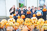 Pupils at Knockaderry National School have a bumper crop of pumpkins this year which they have been busy carving out for Halloween. <br />