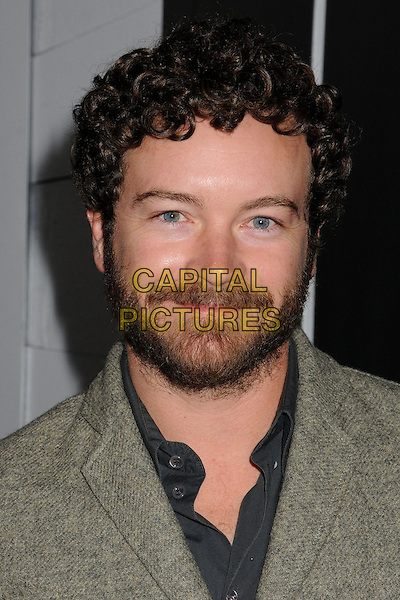 "Danny Masterson.""Gangster Squad"" Los Angeles Premiere held at Grauman's Chinese Theatre, Hollywood, California, USA..January 7th, 2013.headshot portrait beige suit jacket grey gray  beard facial hair.CAP/ADM/BP.©Byron Purvis/AdMedia/Capital Pictures."
