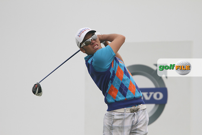 Rory Hie (INA) on the 12th on Day 1 of the 2012 Volvo China Open at Binhai Lake Golf Club, Tianjin, China...(Photo Jenny Matthews/www.golffile.ie)