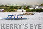 Action from the start of the Senior Ladies race at the Cahersiveen regatta on Sunday.