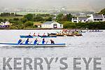 Action from the start of the Senior Ladies race at the Cahersiveen regatta on Sunday.