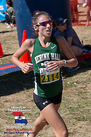 Nerinx Hall junior Sophia Racette takes 3rd in 17:48.