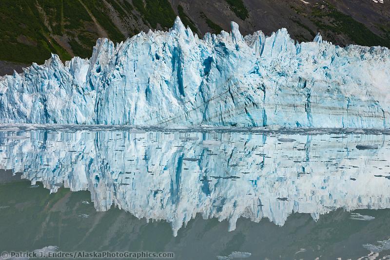 Barry Glacier, Chugach mountains, Chugach National forest, Prince William Sound, southcentral, Alaska.