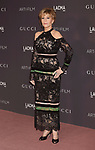 LOS ANGELES, CA - NOVEMBER 04: Actor Jane Fonda attends the 2017 LACMA Art + Film Gala Honoring Mark Bradford and George Lucas presented by Gucci at LACMA on November 4, 2017 in Los Angeles, California.