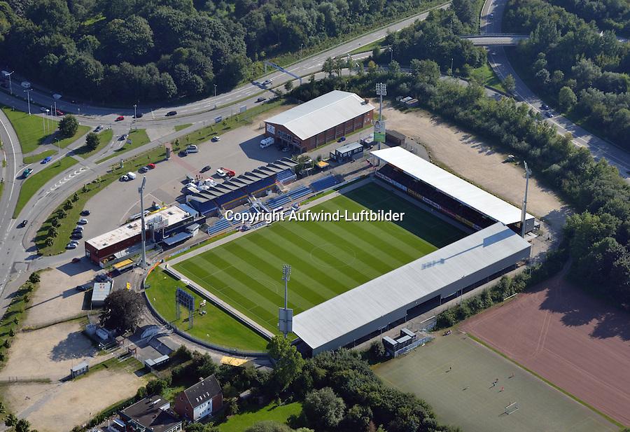 Holstein Stadion: EUROPA, DEUTSCHLAND, SCHLESWIG- HOLSTEIN,  (GERMANY), 06.09.2013: Holstein Stadion