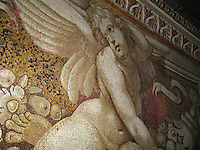 Cherub mosaic on dome of St. Peter's - Vatican