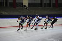 SCHAATSEN: IJSSTADION THIALF: 03-07-2013, Training zomerijs, ©foto Martin de Jong