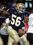 Servite @ Notre Dame - Sherman Oaks (CIF Southern Section).Wes Horton (56).Notre Dame High School Stadium.Sherman Oaks, CA (Los Angeles) - October 5, 2007.KN1R8352.CREDIT: Dirk Dewachter