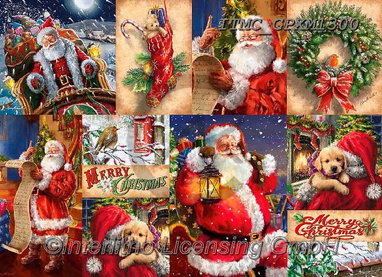 Marcello, GIFT WRAPS, GESCHENKPAPIER, PAPEL DE REGALO, Christmas Santa, Snowman, Weihnachtsmänner, Schneemänner, Papá Noel, muñecos de nieve, paintings+++++,ITMCGPXM1300,#gp#,#x#
