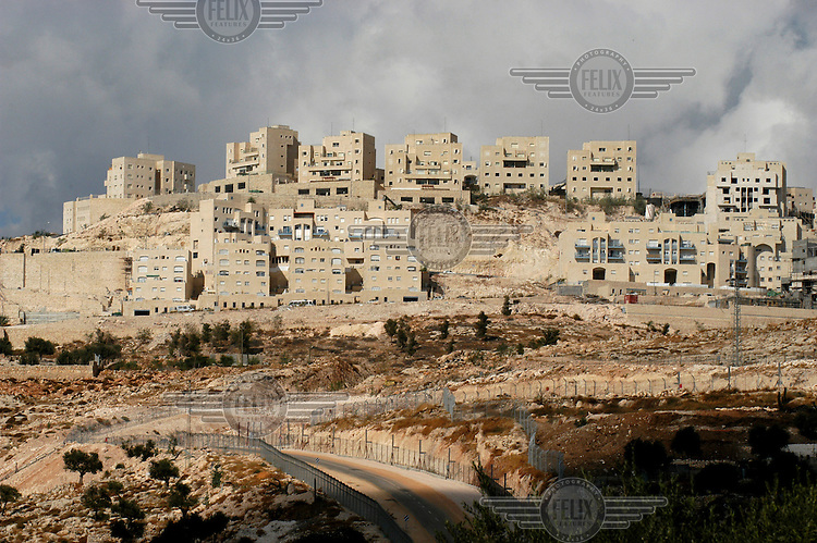 Israeli settlement in the West Bank between Jerusalem and Bethlehem.