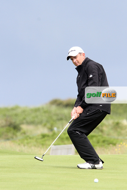 Peter Lawrie (IRL) on the 12th on Day 2 of the 2012 Irish Open at Royal Portrush Golf Club, Portrush, Co.Antrim, 29/6/12...(Photo Jenny Matthews/www.golffile.ie)