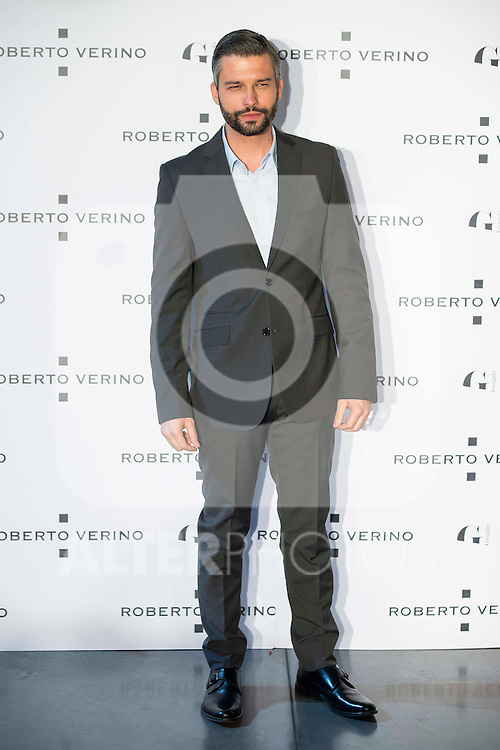 "Marc Parejo during the presentation of the new Spring-Summer collection ""Un Balcon al Mar"" of Roberto Verino at Platea in Madrid. March 16, 2016. (ALTERPHOTOS/Borja B.Hojas)"