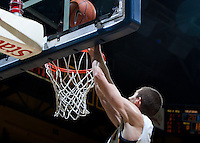 December 29th, 2012: California's David Kravish shoots for the basket during a game against Harvard at Haas Pavilion in Berkeley, Ca Harvard defeated California 67 - 62