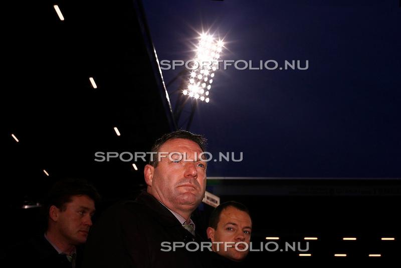 Nederland, Heerenveen, 7 maart 2009..Eredvisie.Seizoen 2008-2009.Heerenveen-Groningen (2-1).Ron Jan trainer-coach van FC Groningen (m)