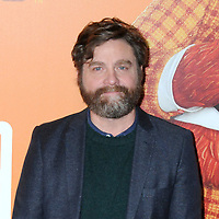 "07 April 2019 - New York, New York - Zach Galifianakis at the New York Premiere of ""MISSING LINK"", held at Regal Cinemas Battery Park II. Photo Credit: LJ Fotos/AdMedia"
