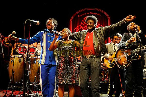 LONDON, UK, JUNE 27: Sharon Jones &amp; Charles Bradley performing as part of the Daptone Records Super Soul Revue concert at Shepherd's Bush Empire on June 27th 2014.<br /> CAP/MAR<br /> &copy; Martin Harris/Capital Pictures