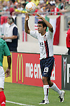 24 June 2007:  USA's Jonathan Bornstein. The United States Men's National Team defeated the national team of Mexico 2-1 in the CONCACAF Gold Cup Final at Soldier Field in Chicago, Illinois.