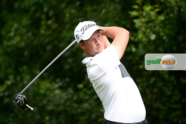 Bjorn Akesson of Sweden during Round 3 of the Lyoness Open, Diamond Country Club, Atzenbrugg, Austria. 11/06/2016<br /> Picture: Richard Martin-Roberts / Golffile<br /> <br /> All photos usage must carry mandatory copyright credit (&copy; Golffile | Richard Martin- Roberts)