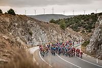 peloton<br /> <br /> Stage 19: Ávila to Toledo (165km)<br /> La Vuelta 2019<br /> <br /> ©kramon