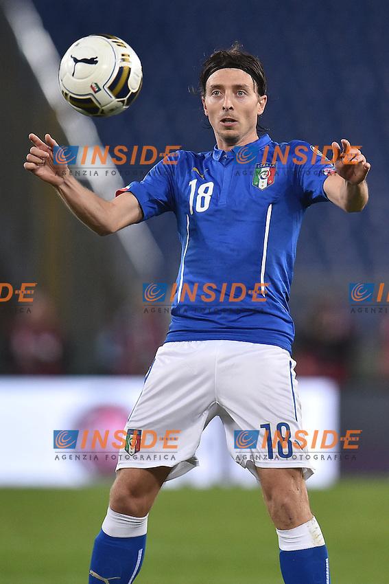 Riccardo Montolivo Italia <br /> Roma 13-10-2015 Stadio Olimpico Euro 2016 qualificazioni - Qualifying round group H Italia - Norvegia / Italy - Norway Foto Andrea Staccioli / Insidefoto