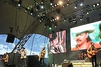 Tigres del Norte  durante su concierto en la Feria Internacional de Durango 2013.<br /> *29,Junio,2013.<br /> (*&copy;NortePhoto)
