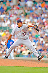3 July 2005: Chad Cordero, All-Star closing pitcher for the Washington Nationals, on the mound against the Chicago Cubs. The Nationals defeated the Cubs 5-4 in 12 innings to sweep the 3-game series at Wrigley Field in Chicago, IL. Mandatory Photo Credit: Ed Wolfstein