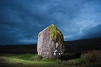 Maen Llia standing stone; Brecon Beacons national park; Wales