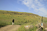 Israel, Lower Galilee, Israel Trail at Nahal Yavne'el