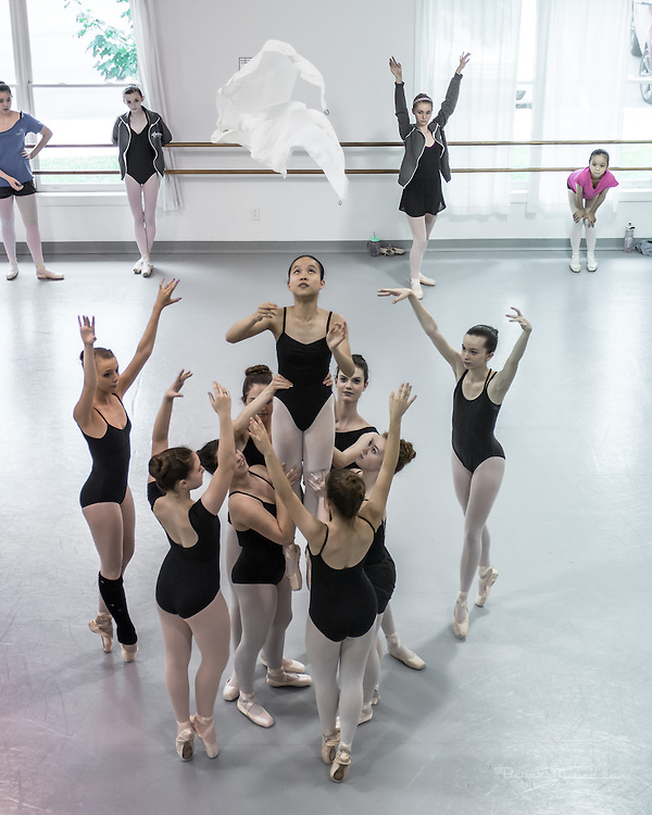 Summer Session IV Final Day: Rehearsal & Student Performances with Leah Copley Summers.