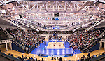 07 MAY: Brigham Young University takes on Ohio State University at the Division I Men's Volleyball Championship held at Rec Hall on the Penn State University campus in University Park, PA. Ohio State defeated BYU 3-1 for the national title. Ben Solomon/NCAA Photos