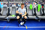 12.05.2018, OLympiastadion, Berlin, GER, 1.FBL, Hertha BSC VS. RB Leipzig, im Bild <br /> Dominik Kaiser (RB Leipzig #24), allein auf der Spielerbank<br /> <br /> <br />       <br /> Foto &copy; nordphoto / Engler