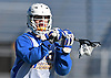 Brendan Kavanagh #27 of Hofstra University makes a pass during a scrimmage against Hobart College at Hofstra University on Saturday, Feb. 4, 2017.