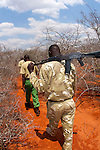 SHeldrick's anti poaching unit patroling a private ranch.