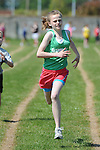 Chloe Barry from Cooley AC running in the girls under 12 one hundred meter event at the Louth Community Games Athletics Finals held at meadowview. Photo: Colin Bell/pressphotos.ie