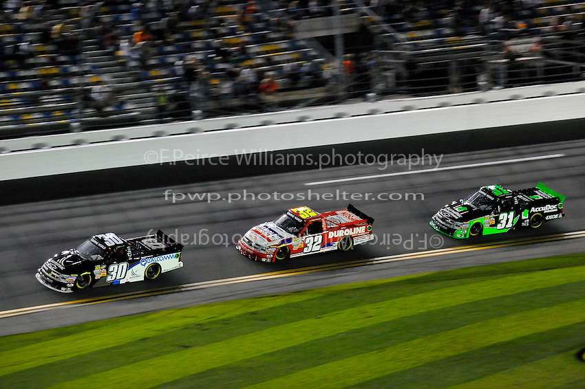 Nelson Piquet, Jr. (#30), Miguel Paludo (#32) and James Buescher (#31)