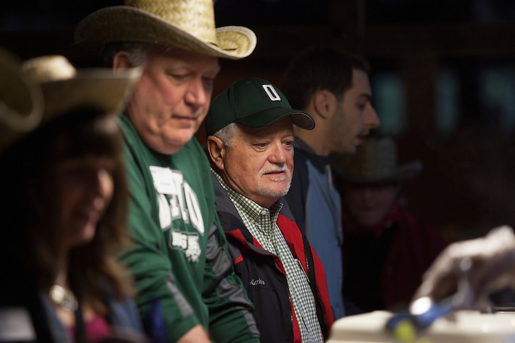 College of Business Faculty Social at Uncle Buck's. © Ohio University / Photo by Kaitlin Owens