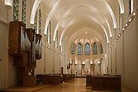 Europe/France/Nord-Pas-de-Calais/59/Nord/ Godewaersvelde: Abbaye du Mont des Cats- l'église paroissiale Saint-Bernard