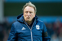Cardiff City manager Neil Warnock ahead of the Sky Bet Championship match between Aston Villa and Cardiff City at Villa Park, Birmingham, England on 10 April 2018. Photo by Mark  Hawkins / PRiME Media Images.