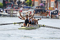 THE WYFOLD CHALLENGE CUP<br /> Molesey B.C. 'A' (220)<br /> Mercantile R.C., AUS (218)<br /> <br /> Henley Royal Regatta 2018 - Sunday<br /> <br /> To purchase this photo, or to see pricing information for Prints and Downloads, click the blue 'Add to Cart' button at the top-right of the page.