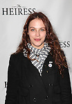 Jessica Brown Findlay attending the Broadway Opening Night Performance of 'The Heiress' at The Walter Kerr Theatre on 11/01/2012 in New York.