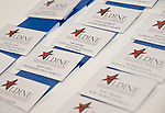 Name tags for Aldine Scholarship Foundations Donor and Board Members.