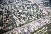 1996 September 23..Assisted Housing..Oakmont North...Aerial.Looking West with Military Highway in front...NEG#.NRHA#..HOUSING/OAKMONT2  2:2