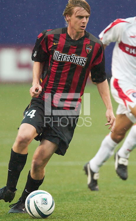 Eddie Gaven of the MetroStars is the second youngest in the league to appear in a regular season MLS game at 16 years 232 days. The Chicago Fire defeated the NY/NJ MetroStars 3-2 on 6/14/03 at Giant's Stadium, NJ..
