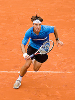 26-5-08, France,Paris, Tennis, Roland Garros, Tommy Robredo