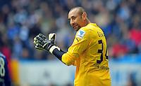 FUSSBALL   1. BUNDESLIGA   SAISON 2012/2013    27. SPIELTAG FC Schalke 04 - TSG 1899 Hoffenheim                       30.03.2013 Torwart Heurelho Gomes(TSG 1899 Hoffenheim)