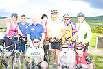 'On the Ring Again' were front l-r: Paddy O'Donoghue, Peg Fleming, Patricia O'Donoghue.  Back l-r: Deirdre Frost, Daniel Murphy, Denis Geaney(Denis has been involved in the 'Ring of Kerry' Cycle for the past 25 years), Ann Marie O'Leary, Tony White, John Grant & Christy O'Sullivan.